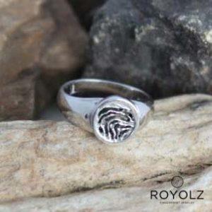 Ring rond FPR 301 vingerafdruk