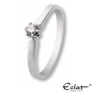 Eclat R16-0,03ct WG Damesring