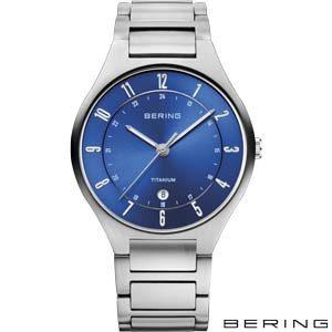 11739-707 Bering Titanium Herenhorloge