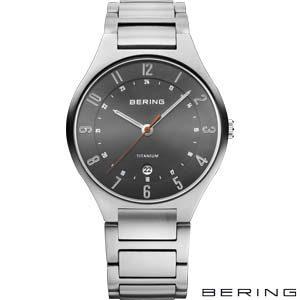 11739-772 Bering Titanium Herenhorloge