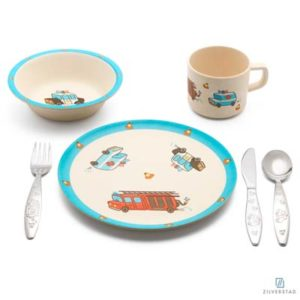 Kinderservies set Hulpdiensten 6-delig 4253070