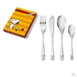 Kinderbestek Snoopy 4-delig 6869030