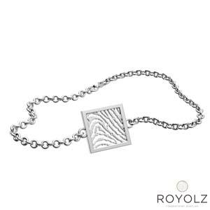 Royolz armband FPA 206 met vingerafdruk