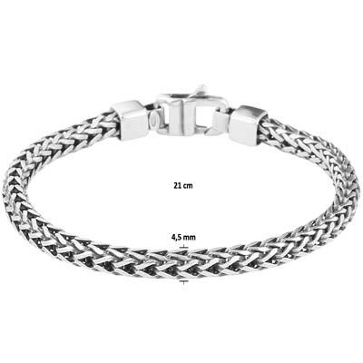 011-01642K Vossestaart armband Z 4.5 mm