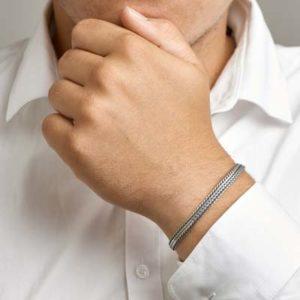 011-01646K Vossestaart armband Z 6.5 mm