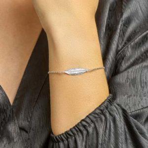 013-19528K Armband met Veer Z 1.8 mm