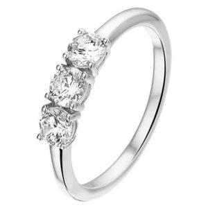 013-26147K Ring Zilver met zirkonia