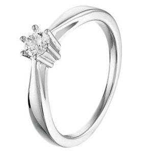 013-26638K Ring Zilver met zirkonia