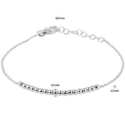 013-29630K Armband Zilver