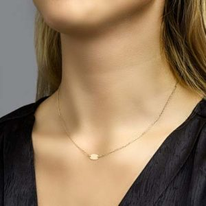 040-20593K Collier Geelgoud