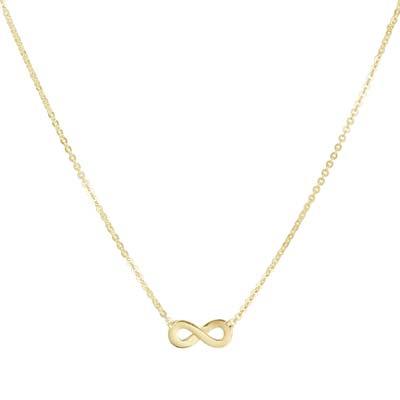040-20957K Collier Geelgoud Infinity
