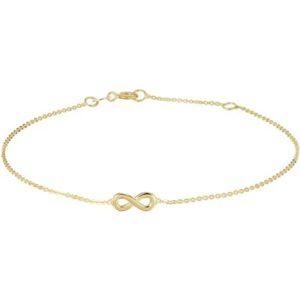 040-20958K Armband Geelgoud Infinity
