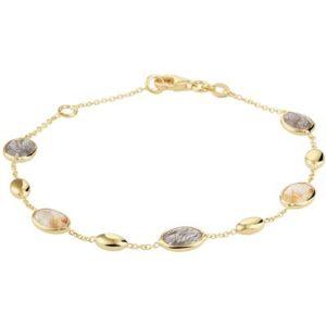 040-21005K Armband Geelgoud edelstenen