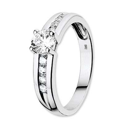 041-01831K Ring Witgoud Zirkonia