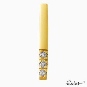 H303-3 Eclat Hanger met diamant