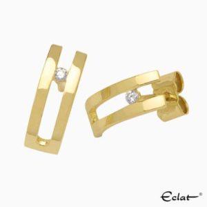 OK3005 Eclat Oorknoppen met diamant