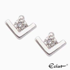 OK4241 Eclat Oorknoppen met diamant