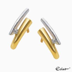 OK4260 Eclat Oorknoppen met diamant