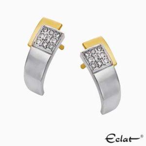 OK4280 Eclat Oorknoppen met diamant