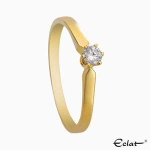 R16 Solitair Eclat ring