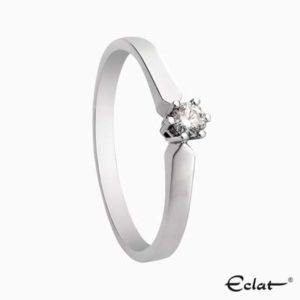 Solitair 16 Eclat ring met groeibriljant
