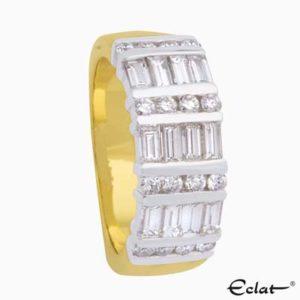 R1714 Eclat Ring met diamanten