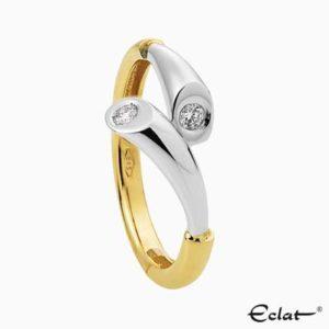 R1790 junior Eclat Ring met diamant