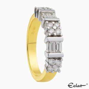R2016-26 Eclat Ring met diamanten