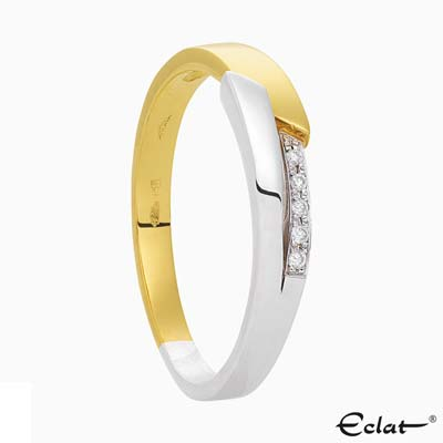 R2018-8 Eclat Ring met diamant