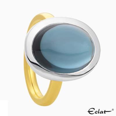 R2019-2 Eclat Ring met topaas