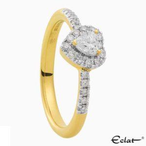 R2019-54 Eclat Ring met diamant