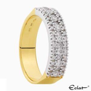 R2019-55 Eclat Ring met diamant