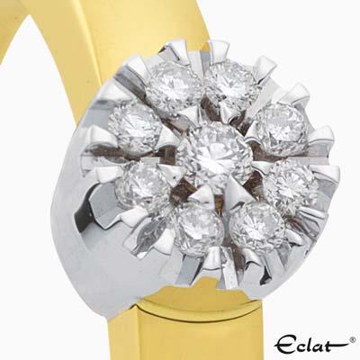 R2019-57 Eclat Ring met diamant