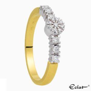 R2019-58 Eclat Ring met diamant