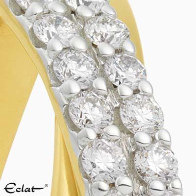 R2019-59 Eclat Ring geelgoud