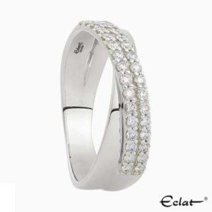 R2019-59 Eclat Ring witgoud