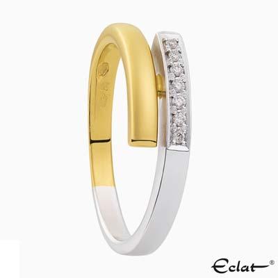 R2019-66 Eclat Ring met diamant