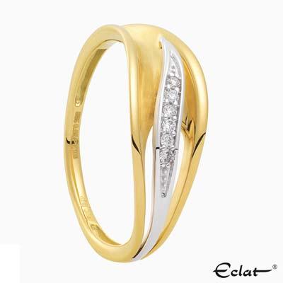 R2019-8 Eclat Ring met diamant