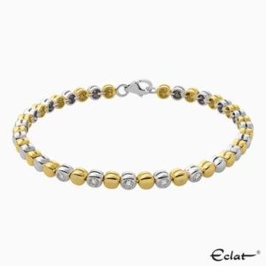 B2016-48-25 Eclat Armband met diamant
