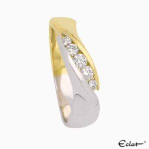 Capri Ring 5-steens diamant Eclat