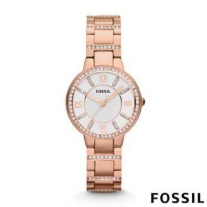 Fossil Virginia dames horloge ES3284