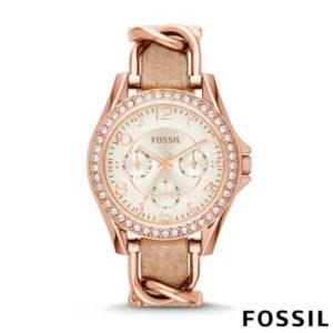 Fossil Riley dames horloge ES3466