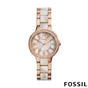 Fossil Dames horloge Virginia ES3716
