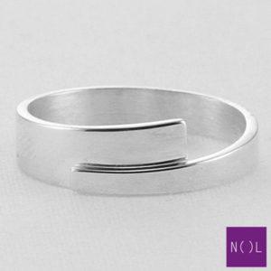 AG00172.6 NOL Zilveren ring