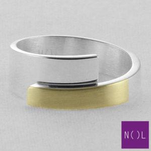 AG02178.8 NOL Zilveren ring