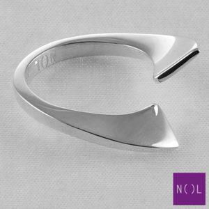 AG04104 NOL Zilveren ring