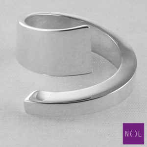 AG08101.9 NOL Zilveren ring