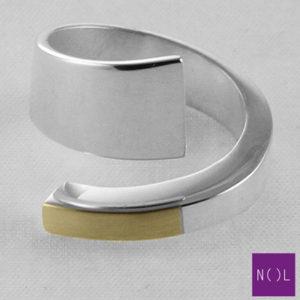 AG08181.9 NOL Zilveren ring
