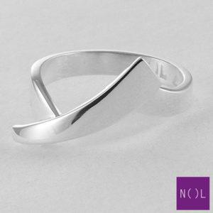 AG10101.6 NOL Zilveren ring