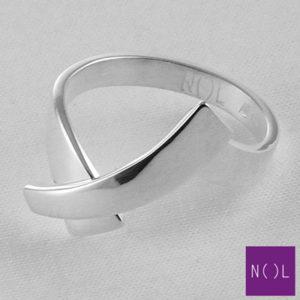 AG10104.6 NOL Zilveren ring